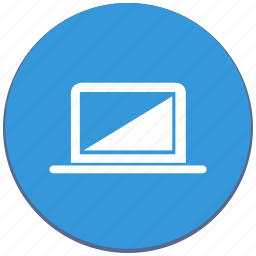 design, device, laptop, material, notebook, pc icon