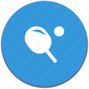 design, enjoy, game, material, ping, pong icon