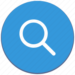 action, design, find, loop, material, search icon