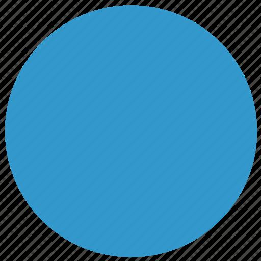 blue circle, blue ellipse, cirlce, ellipse, shape icon