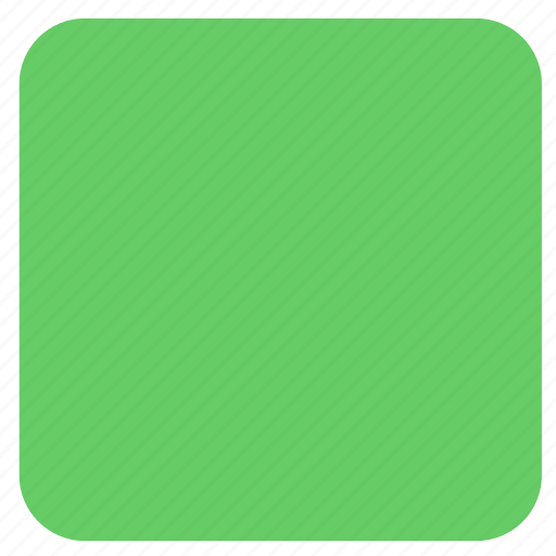 green rectangle, rectangle, shape icon