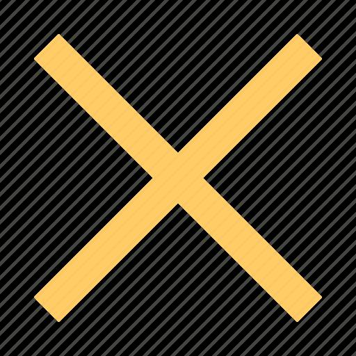 cancel, delete, termination icon