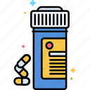 pills, tablets, opioids icon