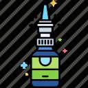 addiction, nasal, spray icon