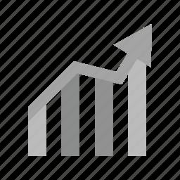 bar chart, chart, finance, graph, report, statistics, stats icon