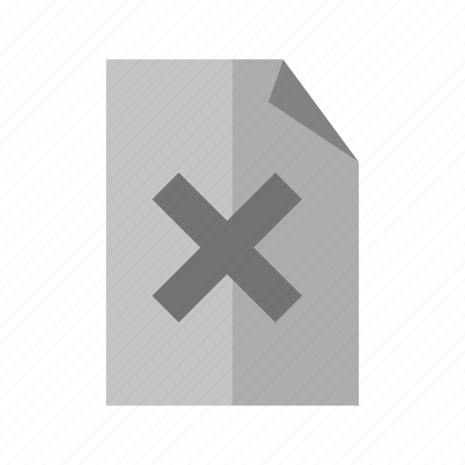 cancel, close, cross, delete, recycle, remove, trash icon