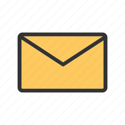 email, envelop, inbox, letter, mail box, message, send icon