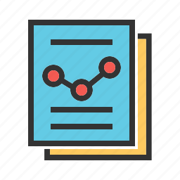chart, data, documents, graph, information, reports, statistics icon