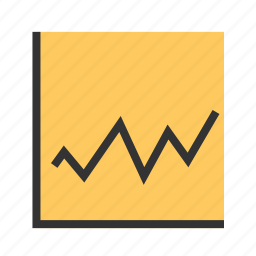 charts, diagram, finance, graph, line, report, statistics icon
