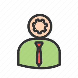 admin, administrator, agent, controller, manager, supervisor, user icon