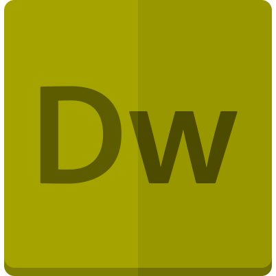 adobe, dreamveawer icon