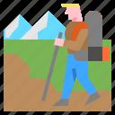 activities, adventure, extreme, hiking, mountain