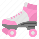 adventure, extreme, roller, skate, sports icon