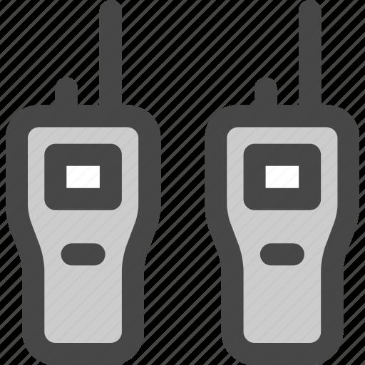 army, communication, portable, radio, talkies, walkie, wireless icon