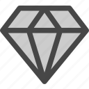 diamond, gem, jewelry, luxury, ruby, treasure icon