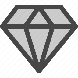 diamond, gem, jewelry, luxury, ruby, treasure icon