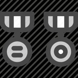 heroarmy, medals, military, rewards, soldier, war icon