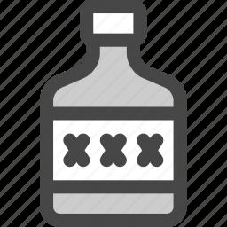 alcohol, booze, homemade, liquor, moonshine, rum, whiskey icon