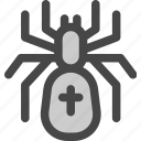 animal, halloween, insect, poison, spider, tarantula icon