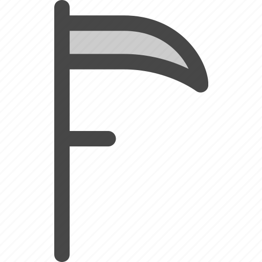 blade, death, grass, mowing, reaper, scythe icon