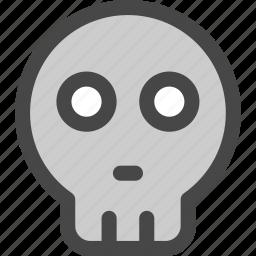 danger, death, head, human, pirate, skeleton, skull icon