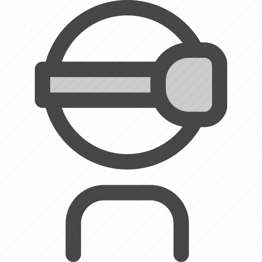 glasses, goggles, headset, oculus, reality, virtual, vr icon