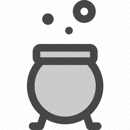 cauldron, cooking, halloween, kettle, pot, soup, witch icon