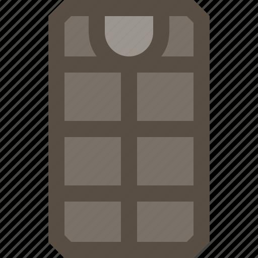 bag, mat, mattress, sleeping icon