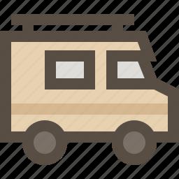 car, rv, van, vehicle icon