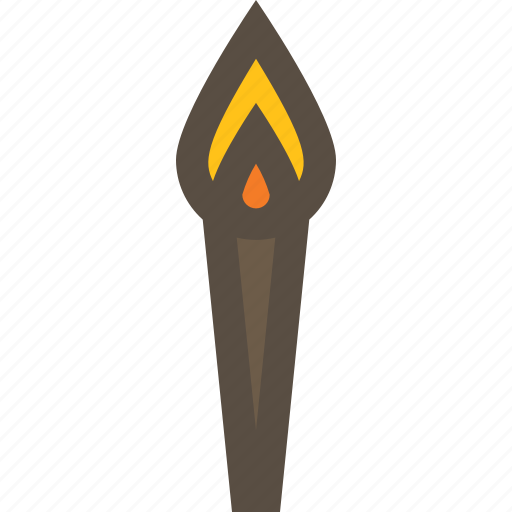 fire, flame, light, torch icon