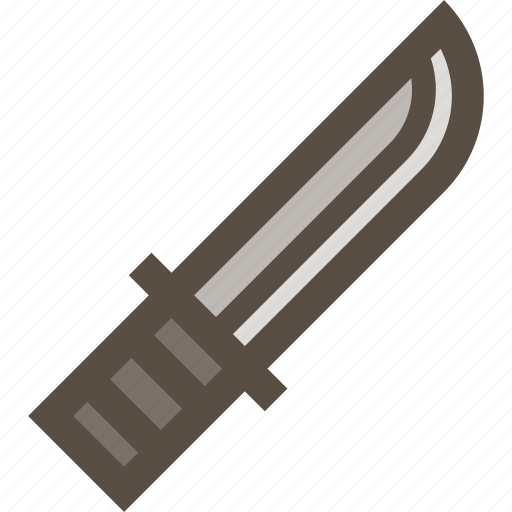 dagger, hunting, knife, weapon icon