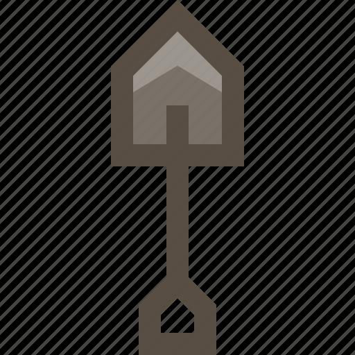digger, shovel, spade, treasure hunt icon