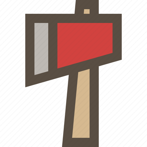 Ax, hatchet, wood, axe icon