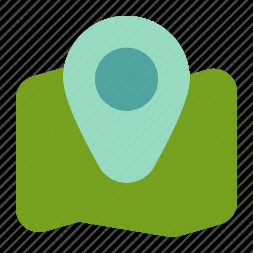 adventure, camp, location, map, travel icon
