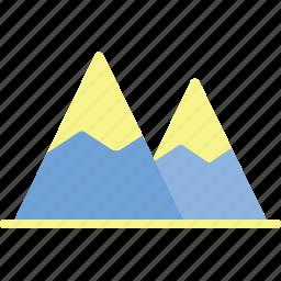 adventure, camp, landscape, mountain, nature, outdoor icon
