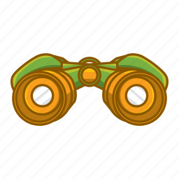 binoculars, field glasses, glasses, peek, peep, peeper, telescope icon