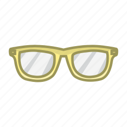 eye, eyeglasses, glasses, glimmers, look, specs, spectacles icon