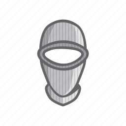 mask, ninja, sebo, thief icon