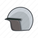 casque, drive, hat, head, head protector, helm, motorcycle icon