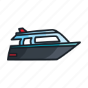 boat, cruiser, ship, skipper, vessel, watercraft, yacht icon