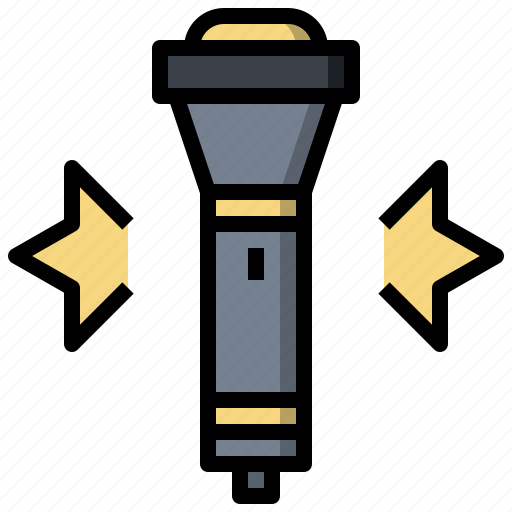 Exploration, flashlight, lamp, light, miscellaneous icon - Download on Iconfinder