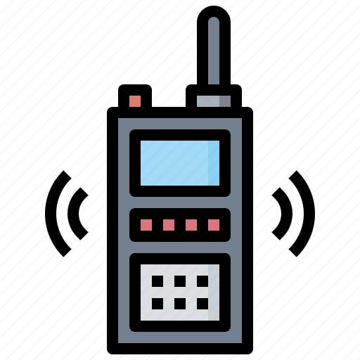 communications, talkie, walkie icon