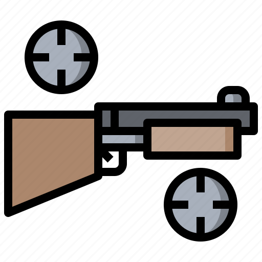 Arm, crime, gun, hunter, shotgun icon - Download on Iconfinder