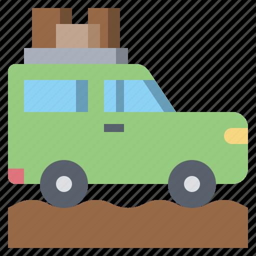 car, jeep, suv, transportation, van, vehicle icon
