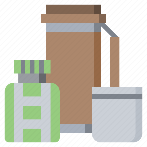 Drink, flask, hot, thermo, thermos, tools icon - Download on Iconfinder