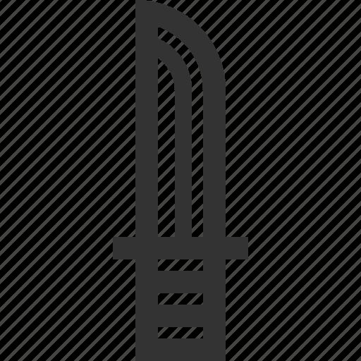 dagger, hunt, hunting, knife icon