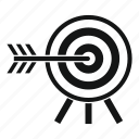 accuracy, concept, darts, game, illustration, sport, success icon