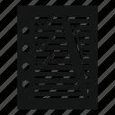 business, concept, document, illustration, paper, pen, plan icon