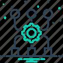 access, application, authentication, badge, code, connectivity, program algorithm icon