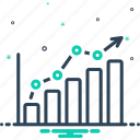 analysis, analzing, chart, data, infographic, pie, statistics icon
